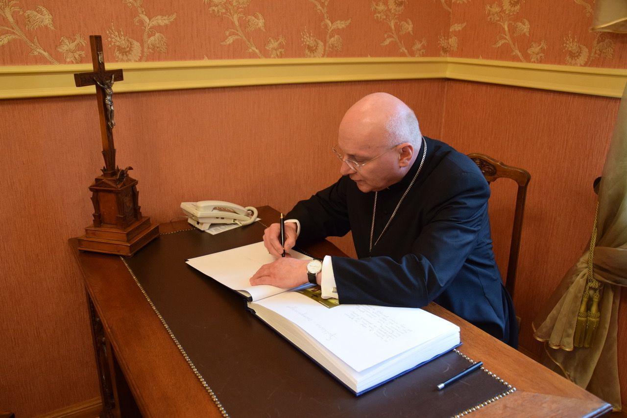 Ingres bp. Wętkowskiego do katedry włocławskiej – 19 czerwca